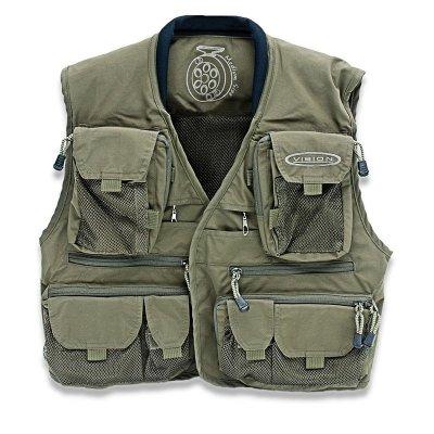 Caribou Vest Green