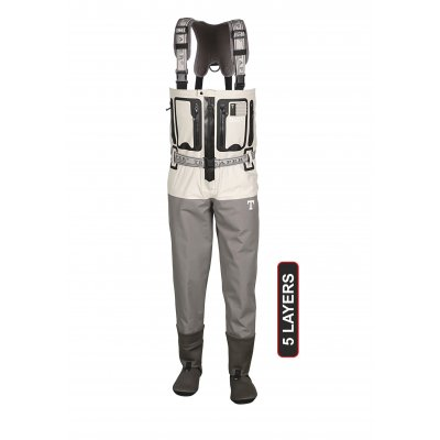 JUKON T-ZIP WADERS