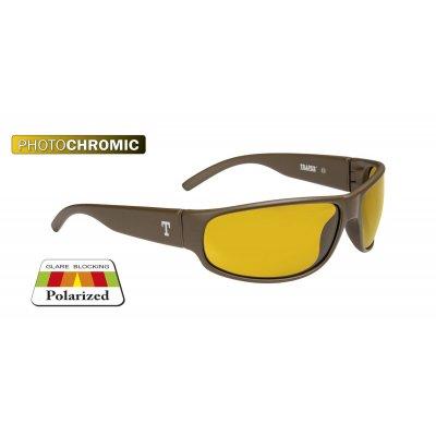 Glasses OREGON nut/yellow