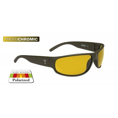 Glasses OREGON olive/yellow