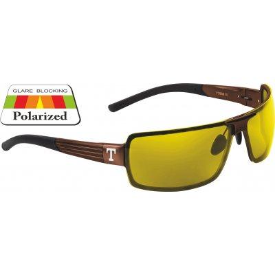 Okulary STREAM brown/yellow