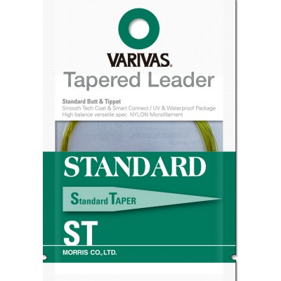 Varivas - Tapered Leader Standard  9 ft
